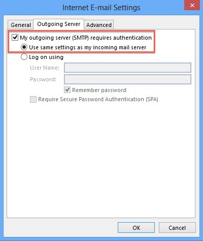 Email set up on outlook 2013 knowledgebase aeserver - Pop settings for office 365 ...